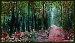 Nel tempo dell'Autunno - Agosto-2017 (agostinodascoli) Tags: art digitalart digitalpainting photoshop alberi bosco foresta nature texture paesaggi landscape agostinodascoli photopainting impressionismo
