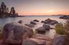 Sand Harbor (flopper) Tags: bolder california lake laketahoe longexposure sandharbor sunset tranquilscene