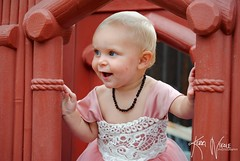 Kennedy's First Birthday (KerriNikolePhotography) Tags: baby girl dress birthday smile kid nikon nikond3000 kerrinikolephotography