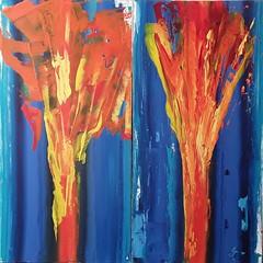 Belle de jour / Belle de nuit (Peter Wachtmeister) Tags: artbrut artinformel modernart acrylicpaint abstrakt abstract surrealism surrealismus hanspeterwachtmeister