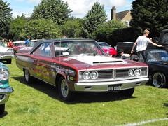 Dodge Coronet - GVU 956D (Andy Reeve-Smith) Tags: dodge coronet 1966 gvu956d luton lutonfestivaloftransport lutonfestivaloftransport2017 2017 stockwoodpark bedfordshire chryslermotors chrysler