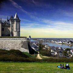 Saumur, Maine-et-Loire (pom.angers) Tags: château castle panasonicdmctz30 2013 april saumur maineetloire 49 paysdelaloire loire valdeloire france europeanunion 100 150 people 200 300 400 5000 500