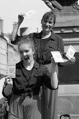 Edinburgh Festival Fringe 2017 - Storytelling for Everyone's Tarantella (Gordon.A) Tags: scotland edinburgh fringe edinburghfestival edinburghfestivalfringe edinburghfestivalfringe2017 edfest edfest2017 edinburghstreets embra auldreekie dùnèideann royalmile oldtown festival festiwal festivaali festivalen wyl féile festspiele arts artsfestival performingarts performingartsfestival streettheatre streetevent event streetperformer streetperformers performer performers performance entertainer entertainers entertainment people peoplewatching atmosphere celebration creative culture streetphotography streetportrait streetportraiture portrait portraitphotography portraiturephotography urban urbanphotography city citystreets daylight day naturallight monochrome monochromatic bw canon