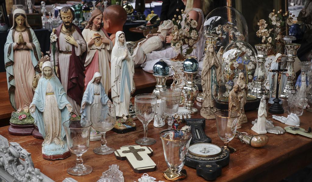 Merveilleux Brocante En Basse Normandie #8: Bagnoles-de-lu0027Orne Brocante Fair (Kotomi_) Tags: Antique Brocante