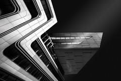 Z ... like Zaha (#201) Tags: slidersunday bw wucampus wubibliothek österreich viertelzwei wien architektur zahahadid architecture austria libraryandlearningcenter sw vienna blackwhite hss mono monochrome schwarzweiss at