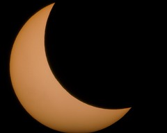 Solar Eclipse 2017 from Bronx, NY (Jemlnlx) Tags: canon eos 5d mark iv 4 5d4 5div celestron astromaster 70az telescope astrophotography solar sun eclipse 2017 new york city ny nyc bronx great american barlow 2x slr dslr adapter nd400 10stop nd neutral density filter