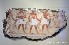 Ancient Egyptian tomb painting (konde) Tags: nebamun 18thdynasty thebes newkingdom tombrelief tombpainting ancientegypt britishmuseum art hare