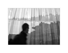 Paris. 2009 (José Luis Cosme Giral) Tags: paris2009 alone man moments bw