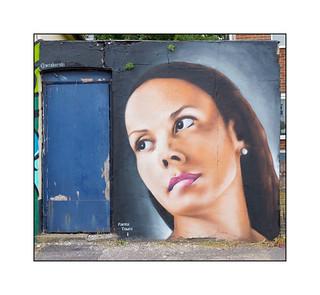 Street Art (Woskerski), South East London, England.