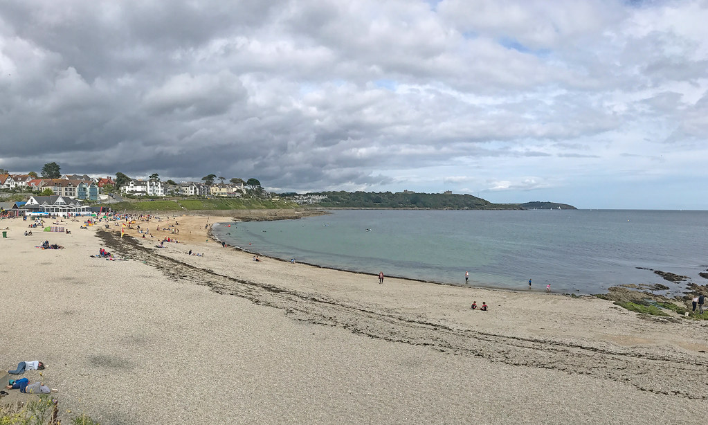 Clouds over Gyllyngvase Beach