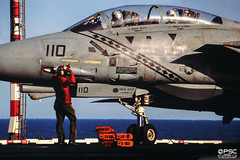 USS Saratoga (conversigphotopress) Tags: f14a tomcat saratoga grumman usn