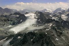 Mont Fort. Switzerland (ibethmuttis) Tags: mountains snow sky clouds alps switzerland montfort ice glacier