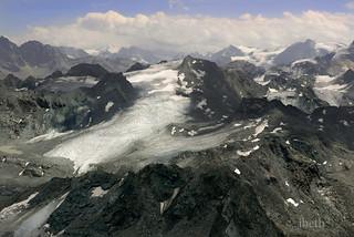 Mont Fort. Switzerland
