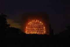 The Hive VIII - Night (MrBlueSky*) Tags: thehive hive design milanexpo kewgardens royalbotanicgardens london wolfgangbuttress pentax pentaxart pentaxlife pentaxk1 pentaxawards pentaxflickraward aficionados travel