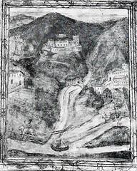 Castel Beseno e il Rio Cavallo