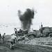 Marines Detonating Japanese Mine on Beach, Iwo Jima, February 1945