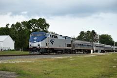 Amtrak Train #391 'Saluki' (redfusee) Tags: amtk