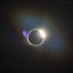 Solar Eclipse - August 21st 2017 - The Diamond Ring (J.L. Ramsaur Photography) Tags: jlrphotography nikond7200 nikon d7200 photography photo cookevilletn middletennessee putnamcounty tennessee 2017 engineerswithcameras cumberlandplateau photographyforgod thesouth southernphotography screamofthephotographer ibeauty jlramsaurphotography photograph pic cookevegas cookeville tennesseephotographer cookevilletennessee eclipse solareclipse greatamericaneclipse eclipse2017 solareclipse2017 greatamericaneclipse2017 greatamericansolareclipse greatamericansolareclipse2017 baily'sbeads diamondring sun moon aligned totalsolareclipse totalsolareclipse2017 thediamondring thediamondringeffect diamondringeffect sunrays sunlight sunglow flare sunflare lensflare halo rainbow haloeffect nature outdoors macro macrophotography closeupphotography closeup god'sartwork nature'spaintbrush onceinalifetimeexperience onceinalifetime amazing amazingexperience sky circle