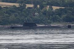 Unidentified Royal Navy Astute-class submarine heads slowly up Loch Long (Michael Leek Photography) Tags: submarine nuclearsubmarine astuteclass astuteclasssubmarine hmnbclyde lochlong silentservice westcoastofscotland westernscotland loch thisisscotland scottishshipping scottishcoastline scottishlandscapes attacksubmarine gareloch faslane michaelleek michaelleekphotography britainsnavy britainsarmedforces rn royalnavy