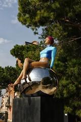 Personal Structures by Carole Feuerman (Patrizia1966) Tags: biennaledivenezia canoneos550d venezia venice italy italia contemporaryart art artecontemporanea bestoftheday picoftheday personalstructures carolefeuerman