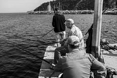 waiting for a catch (mustafaemek) Tags: travel natgeo traveller fishermen nature monochrome blackandwhite explore explorer x100t fujifilm fujifeed blackandwhitephotography perfectphotographer people human lensculture magnumphotos