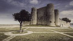 Castillo de castro-urdiales (Raul Piki Bolukua) Tags: castle castro arbol tree lands matte sky clouds sunset afternoon landscape desaturate old vintage nikond3200 sigma1020 architecture texture lighthdr