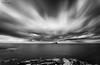 "Center Of Gravity (""A.S.A."") Tags: bassrock eastlothian scotland britain coast northsea infrared830nm seascape landscape longexposure slow shutter cloud movement sonya7rinfrared830nm canonef1740mmf4lusm leefilters leebigstopper nd110 neutral density blackwhite mono monochrome greyscale niksoftware silverefex asa2017"