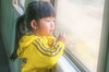 La petite fille du train (catherine bourdin) Tags: photographie portrait couleur train vietnam rêverie reflet enfant vitre