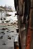 Shipwreck-abandoned wooden boat at Sildpolltjonna. Sildpollnes-Austnesfjorden-Austvagoya-Lofoten islands-Norway. 0149 (rweisswald) Tags: fishingboat abandoned deserted woodenboat woodenplank frame watercraft shipwreck boatwreck remains bay fjord woodenhull rustynail oxidized beached aground boatdeck bow stern starboard port shore coast seaside stillwater lowtide seaweed brittleice icesheet icysoil snow snowcappedmountain snowcovered wood forest copse downybirch betulapubescens cold winter vagankommune langoddenheadland sildpolltjonna sildpollnes austnesfjorden austvagoya lofoten nordlandfylke norway