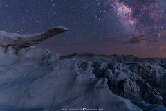 The Other Night in New Mexico (MTD Photos) Tags: bisti milkyway nmsky newmexico astrophotography badlands desert landscape mattdomonkos nature nightscape sky space stargazing