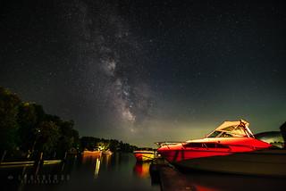 Milky Way over Lac Simon