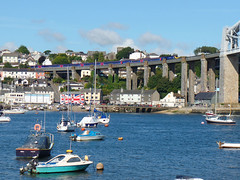 43122 & 43191 Royal Albert Bridge (Marky7890) Tags: gwr 43191 43122 class43 hst 1c73 royalalbertbridge railway saltash cornwall cornishmainline train