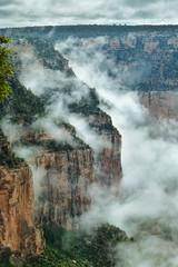 Disappearing clouds (TessaSmits) Tags: grandcanyon america usa amerika arizona cloudy clouds wolken