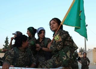Kurdish YPG Fighters