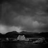 Storm, Mono Lake (bingley0522) Tags: rolleiflexautomatmxevs carlzeisstessar75mmf35 yellowfilter trix diafine epsonv500scanner approachingstorm autaut highway395