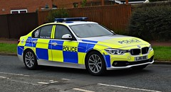 LJ16BBE (Cobalt271) Tags: lj16bbe northumbria police bmw 330d saloon xdrive auto motor patrols traffic vehicle proud to protect livery