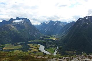 View from Rampestreken