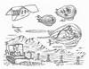APES 64 (rod1691) Tags: bw scifi grey concept custom car retro space hotrod drawing pencil h2 hb original story fantasy funny tale automotive art illistration greyscale moonpies sketch
