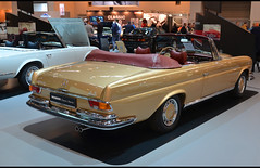 Mercedes Benz 280 se 3.5 cabriolet (1970) (baffalie) Tags: auto voiture ancienne vintage classic old car coche retro expo allemagne sport automobile racing motor show collection club