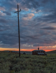 P8263983 (whyworry2010) Tags: bodie statepark california dusk sunset ruins shacks mining