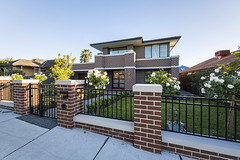 Rendered Cap front fence (by Supreme Green Landscaping) Tags: low front fence