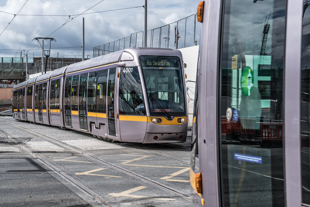 THE NEW LUAS TRAM STOP AT BROADSTONE [TESTING PHASE UNTIL EARLY DECEMBER]-1324703