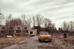 Backyard Wrecks (Ralph Graef) Tags: wartburg wreck car backyard drab drabness abandoned decay dilapidated fall autumn desolation ddr