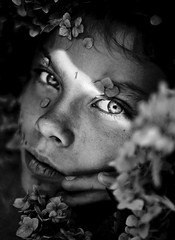 Pristine {16} (dewframe) Tags: bw girl portrait dramatic youngteen blackandwhite lighting autumn look eyes ybs2017