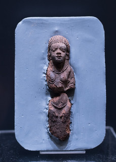 Terracotta statuette of a Nubian woman