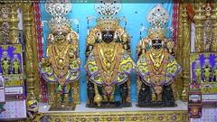 NarNarayan Dev Rajbhog Darshan on Sun 01 Oct 2017 (bhujmandir) Tags: narnarayan dev nar narayan hari krushna krishna lord maharaj swaminarayan bhagvan bhagwan bhuj mandir temple daily darshan swami rajbhog