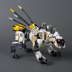 """Sawtooth (from """"Horizon Zero Dawn"""") (Velocites) Tags: horizonzerodawn lego legomoc sawtooth moc videogame"""