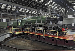 60103 (Geoff Griffiths Doncaster) Tags: 60103 barrow hill roundhouse depot shed derbyshire flying scotsman