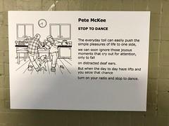 Stop To Dance by Pete McKee - Exhibition Alley, Sheffield 2017 (Dave_Johnson) Tags: ikea wonderfuleverydaytour wonderfuleveryday art artist streetart publicart exhibition gallery exhibitionalley subway alley underpass arundelgate arundelstreet sheffield southyorkshire stoptodance petemckee mckee images imagesofsheffield picture pictures painting paintings