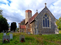 St. Andrew, Hasketon (2) (dogmarten28) Tags: church hasketon standrew suffolk roundtower eastanglia saxon norman decorated reverendthomasmaude brewsefamily